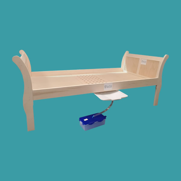 Easy Drain Care Wooden bed